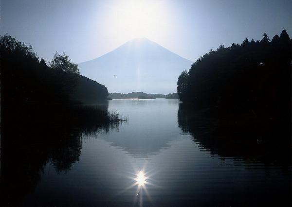 田貫湖 Wダイヤモンド富士